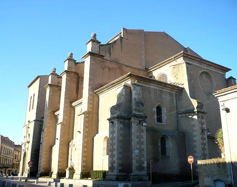 cathédrale st benoit de castres (source wikimédia commons)