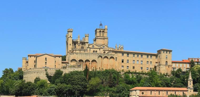 Béziers et la cathédrale Saint Nazaire