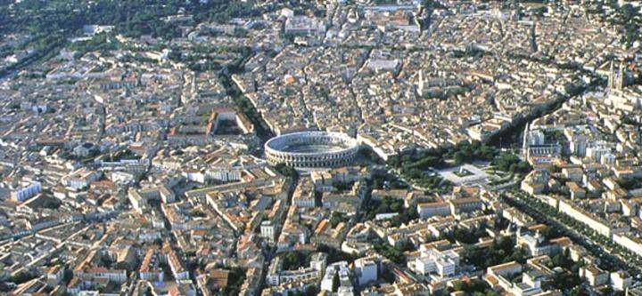 centre ville de Nîmes