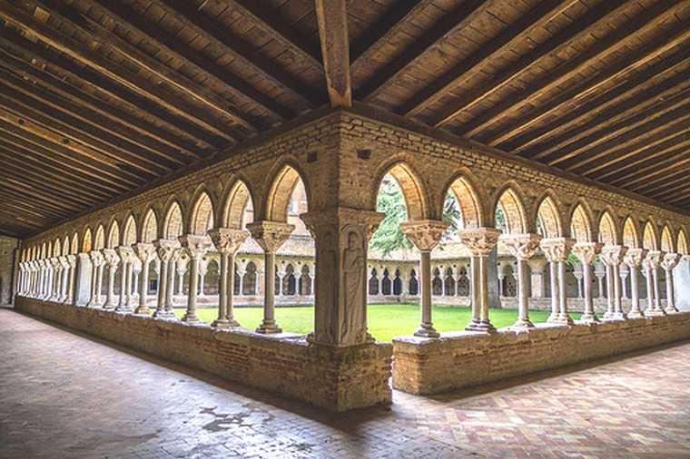 Cloître de l'Abbaye saint pierre de Moissac