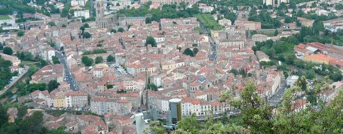 La ville de Lodève