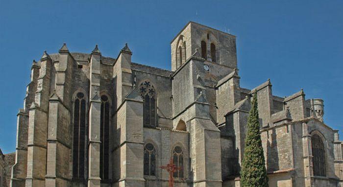 La cathédrale Saint-Fulcran de Lodève