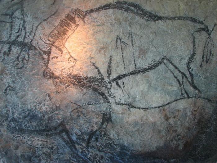 Les gravures de la grotte de Niaux