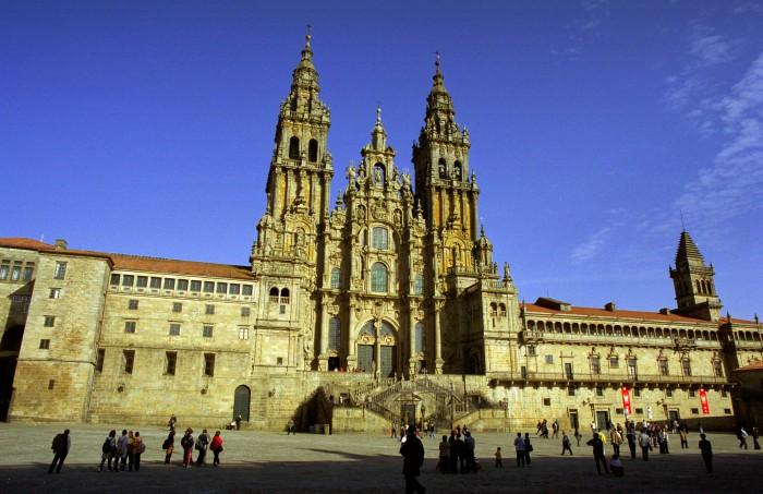 Cathédrale de saint jacques de compostelle