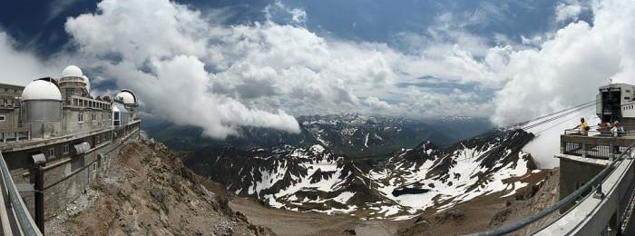 L'observatoire du Pic du Midi dans les Hautes-Pyrénées