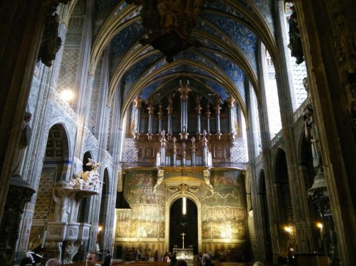 Cathédrale Sainte Cécile d'Albi dans le Tarn