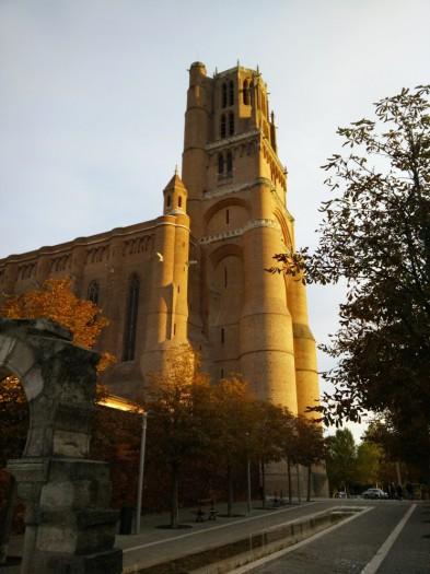 Vue extérieure de la cathédrale