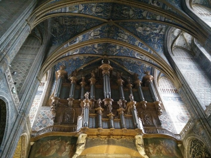 Orgue de la cathédrale sainte Cécile