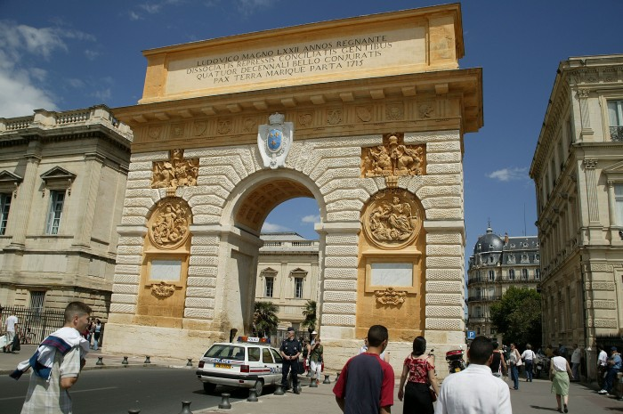 arc de triomphe de Montpellier