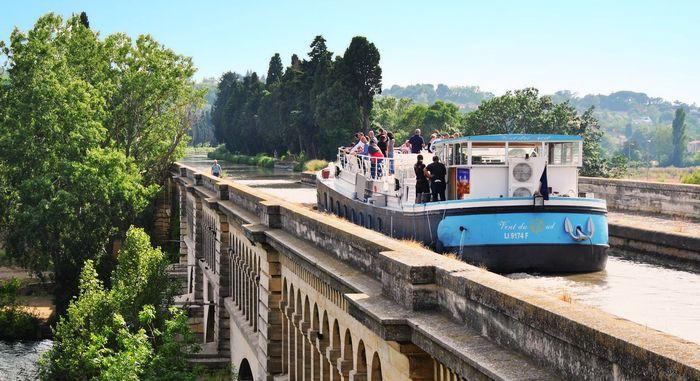 Pont canal à Béziers
