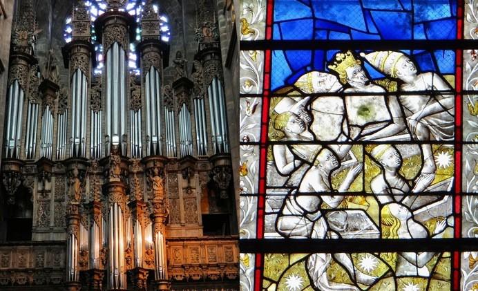 orgue et vitraux