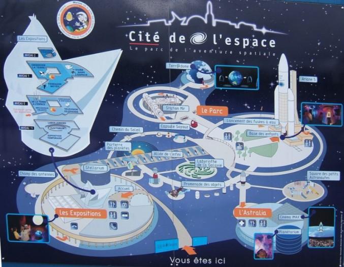 Le parc de l'aventure spatiale