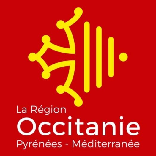 Identité visuelle de la région Occitanie/Pyrénées-Méditerranée